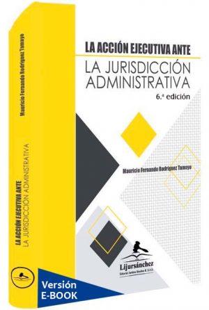 la-accion-ejecutiva-ante-la-jurisdiccion-administrativa-libros-jurídicos-lijursanchez-juridica-sanchez