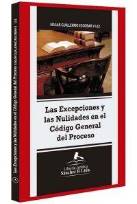 las-excepciones-y-las-nulidades-en-el-codigo-general-del-proceso-libros-jurídicos-lijursanchez-juridica-sanchez