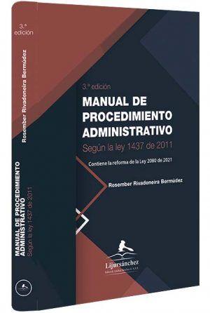 manual-de-procedimiento-administrativo-libros-jurídicos-lijursanchez-juridica-sanchez