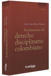 Fundamentos del derecho disciplinario colombiano-libros-jurídicos-lijursanchez-juridica-sanchez