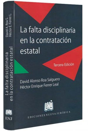 la-falta-disciplinaria-libros-jurídicos-lijursanchez-juridica-sanchez