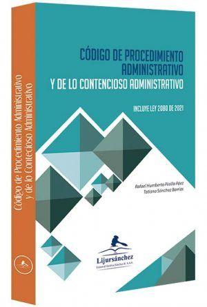 codigo-de-procedimiento-administrativo-y-de-lo-contencioso-administrativo-argollado-libros-jurídicos-lijursanchez-juridica-sanchez