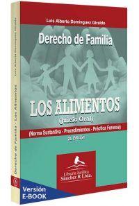 derecho-de-familia-los-alimentos-libros-jurídicos-lijursanchez-juridica-sanchez