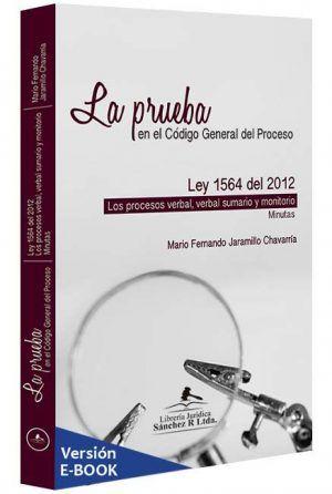 la-prueba-en-el-codigo-general-del-proceso-libros-jurídicos-lijursanchez-juridica-sanchez