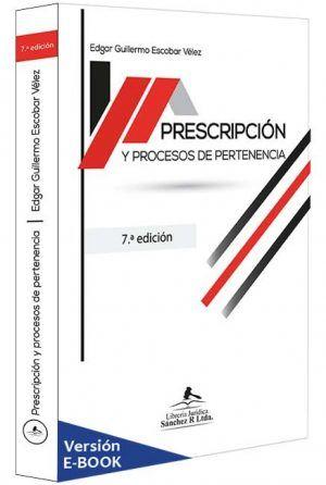 prescripcion-y-procesos-de-pertenencia-libros-jurídicos-lijursanchez-juridica-sanchez