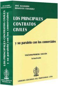 los-principales-contratos-civiles-libros-jurídicos-lijursanchez-juridica-sanchez
