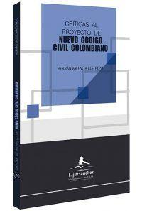 críticas-al-proyecto-de-nuevo-codigo-civil-colombiano-libros-jurídicos-lijursanchez-juridica-sanchez