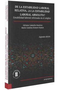 De-la-estabilidad-laboral-relativa -libros-jurídicos-lijursanchez-juridica-sanchez