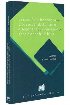 La-sancion-de- inhabilidad-en-el-proceso-penal-el-proceso-disciplinario -libros-jurídicos-lijursanchez-juridica-sanchez