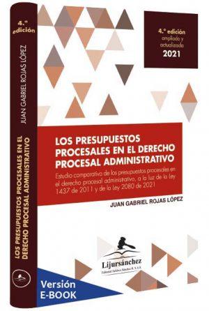 los-presupuestos-procesales-en-el-derecho-procesal-administrativo -libros-jurídicos-lijursanchez-juridica-sanchez