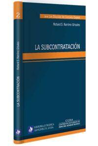 la-subcontratacion-libros-jurídicos-lijursanchez-juridica-sanchez