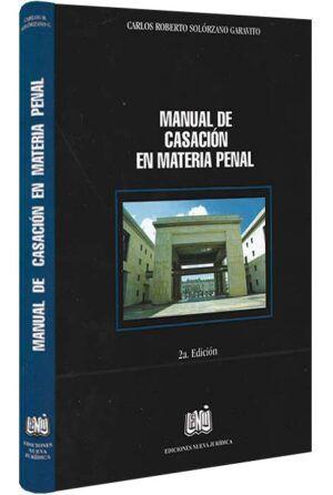 manual-de-casación-en-materia-penal-libros-jurídicos-lijursanchez-juridica-sanchez