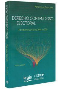 derecho-contencioso-eletoral-libros-jurídicos-lijursanchez-juridica-sanchez