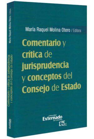 Comentario y crítica de jurisprudencia y conceptos del Consejo de Estado-libros-jurídicos-lijursanchez-juridica-sanchez