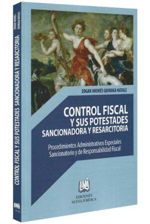 Control fiscal y sus potestades sancionadora y resarcitoria-libros-jurídicos-lijursanchez-juridica-sanchez