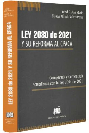 Ley 2080 de 2021 y su reforma al CAPA-libros-jurídicos-lijursanchez-juridica-sanchez