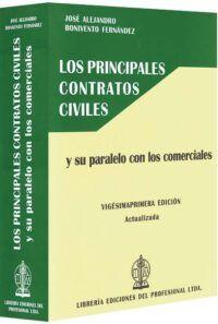 Los principales contratos civiles y su paralelo con los comerciales-libros-jurídicos-lijursanchez-juridica-sanchez