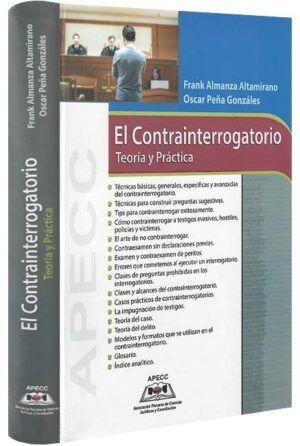 el-contrainterrogatorio-teoria-y-practica-libros-jurídicos-lijursanchez-juridica-sanchez