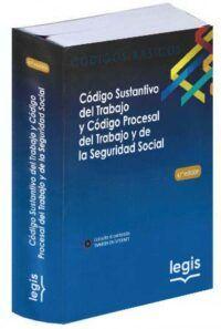 Código Sustantivo del Trabajo y Código Procesal del Trabajo y de la Seguridad-libros-jurídicos-lijursanchez-juridica-sanchez
