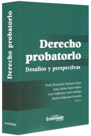Derecho probatorio. Desafíos y perspectivas-libros-jurídicos-lijursanchez-juridica-sanchez