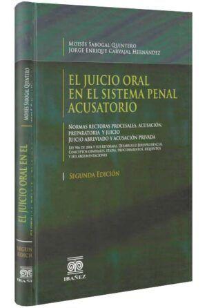 El juicio oral en el sistema penal acusatorio-libros-jurídicos-lijursanchez-juridica-sanchez