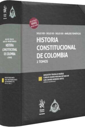 Historia constitucional de Colombia 2 Tomos-libros-jurídicos-lijursanchez-juridica-sanchez