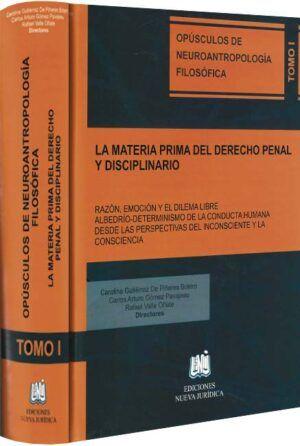 La materia prima del derecho penal y disciplinario-libros-jurídicos-lijursanchez-juridica-sanchez