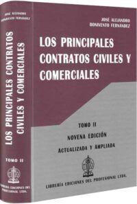Los principales contratos civiles y comerciales-libros-jurídicos-lijursanchez-juridica-sanchez